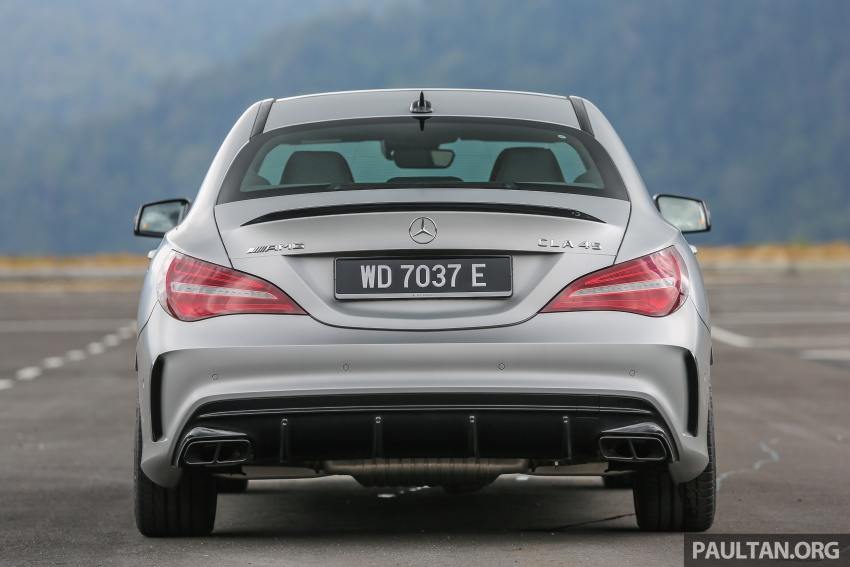 GALLERY: Mercedes-AMG CLA45 FL, from RM409k Image #596977