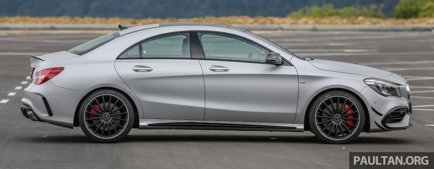 GALLERY: Mercedes-AMG CLA45 FL, from RM409k Image #596978