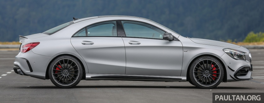 GALLERY: Mercedes-AMG CLA45 FL, from RM409k Image #596979