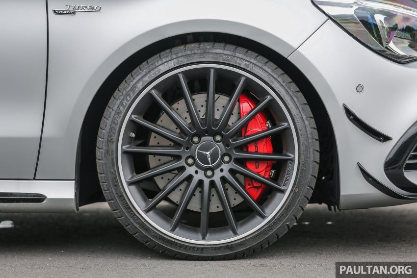 GALLERY: Mercedes-AMG CLA45 FL, from RM409k Image #596992