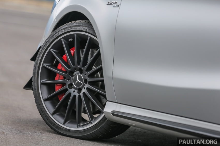 GALLERY: Mercedes-AMG CLA45 FL, from RM409k Image #596994
