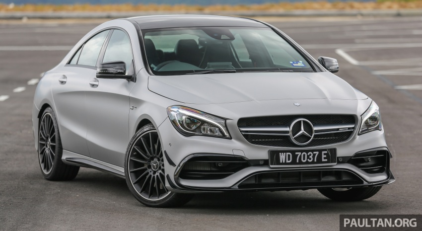 GALLERY: Mercedes-AMG CLA45 FL, from RM409k Image #596968