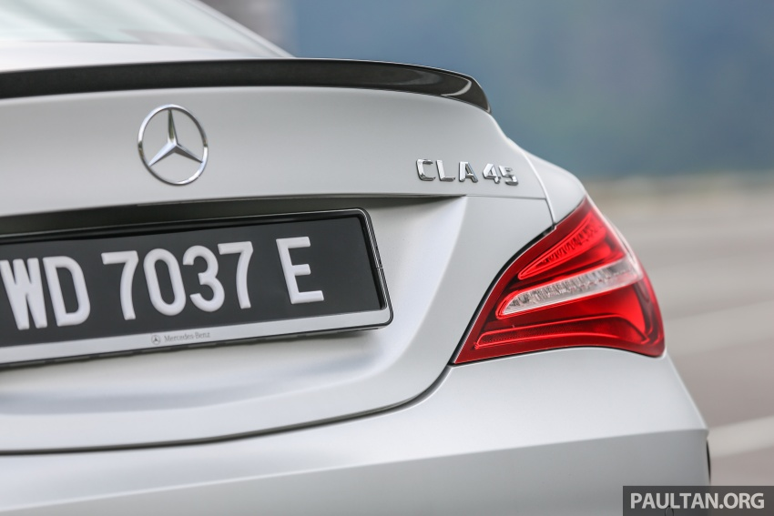 GALLERY: Mercedes-AMG CLA45 FL, from RM409k Image #597000