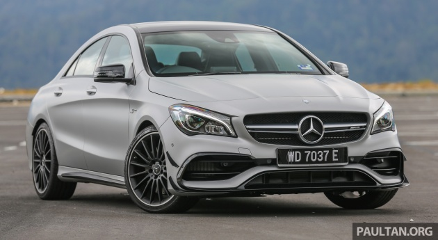 DRIVEN: Mercedes-AMG CLA45 review - excess is welcomed