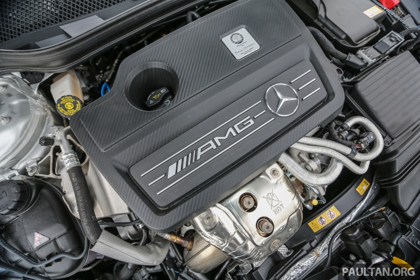 GALLERY: Mercedes-AMG CLA45 FL, from RM409k Image #597006