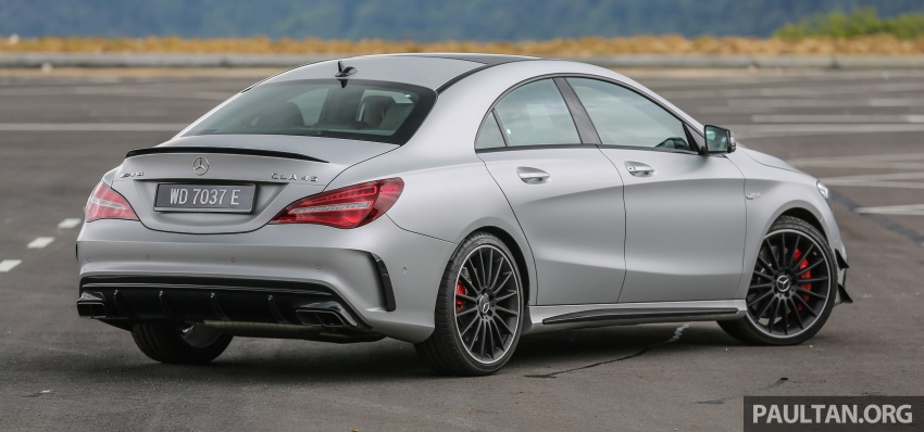GALLERY: Mercedes-AMG CLA45 FL, from RM409k Image #596970