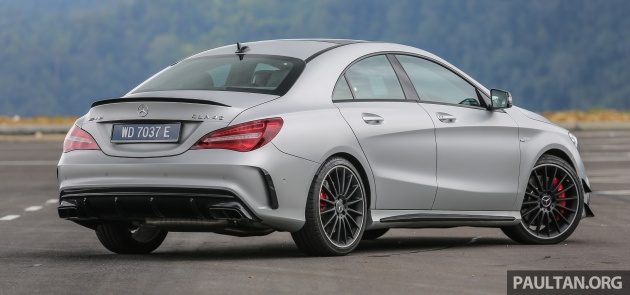 gallery: mercedes-amg cla45 fl, from rm409k
