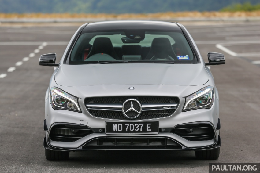GALLERY: Mercedes-AMG CLA45 FL, from RM409k Image #596974