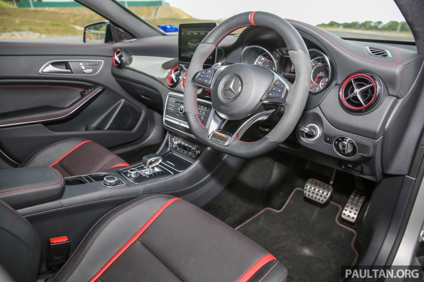 GALLERY: Mercedes-AMG CLA45 FL, from RM409k Image #597008