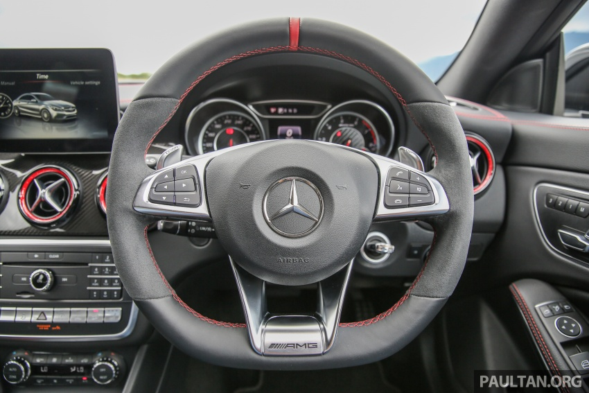 GALLERY: Mercedes-AMG CLA45 FL, from RM409k Image #597009