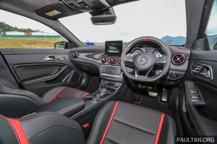 GALLERY: Mercedes-AMG CLA45 FL, from RM409k Image #597041