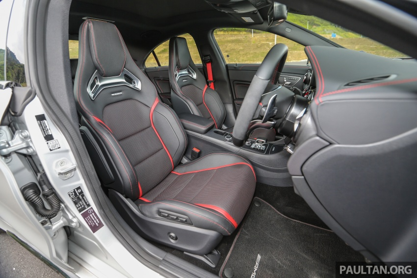 GALLERY: Mercedes-AMG CLA45 FL, from RM409k Image #597045