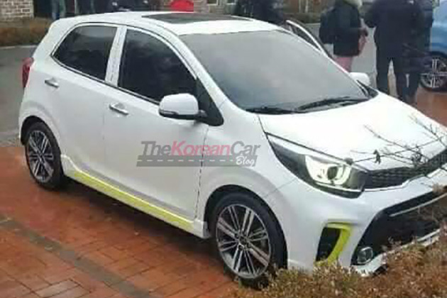 SPYSHOTS: Next-gen Kia Picanto spotted undisguised Image #595823