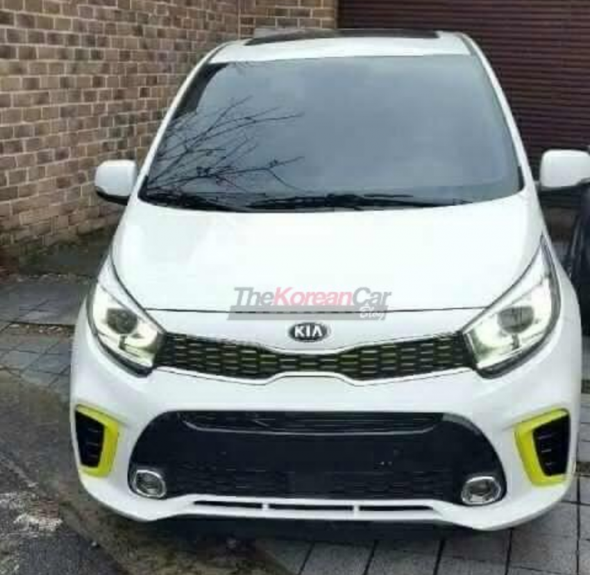 SPYSHOTS: Next-gen Kia Picanto spotted undisguised Image #595821