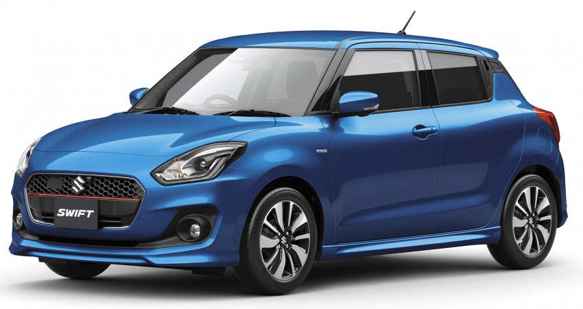 All-new Suzuki Swift officially launched in Japan – mild hybrid models introduced; six airbags, AEB available Image #595448