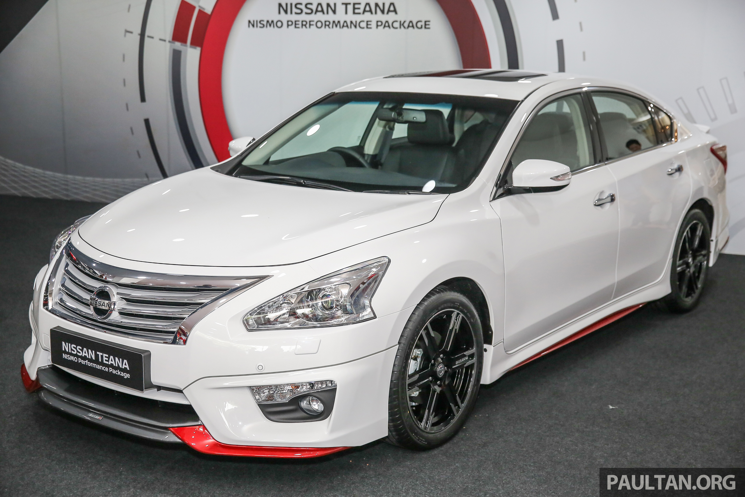 nissan teana nismo performance package, from rm6k nissan