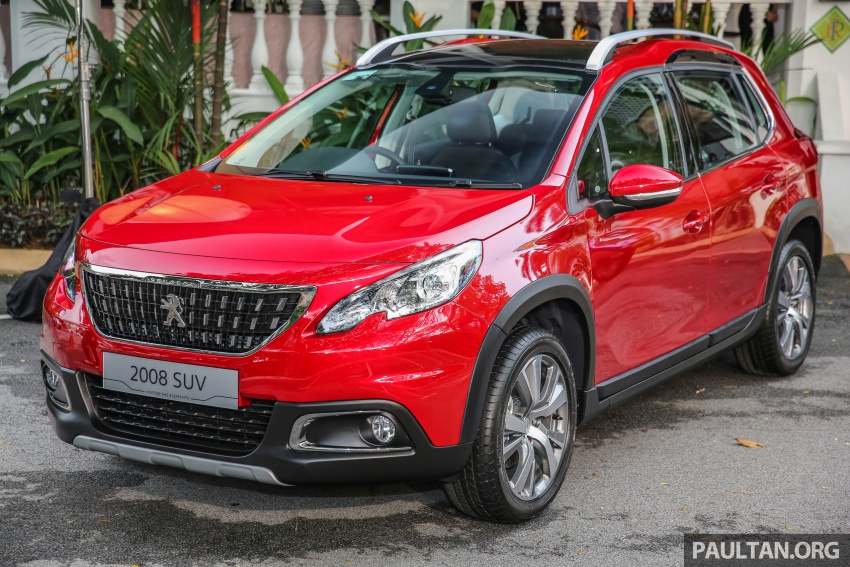 GALLERY: Peugeot 208 and 2008 facelifts on display Image #591696