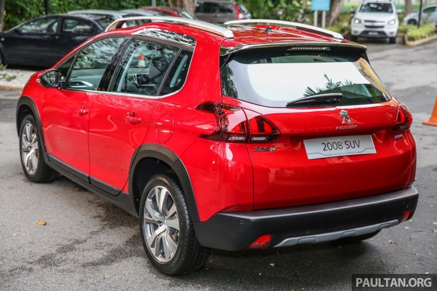 GALERI: Peugeot 208, 2008 facelift dipertontonkan Image #591806