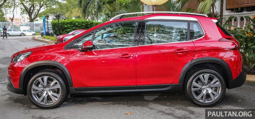 GALERI: Peugeot 208, 2008 facelift dipertontonkan Image #591773