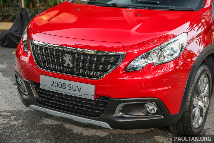 GALLERY: Peugeot 208 and 2008 facelifts on display Image #591708