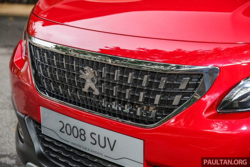 GALERI: Peugeot 208, 2008 facelift dipertontonkan Image #591779