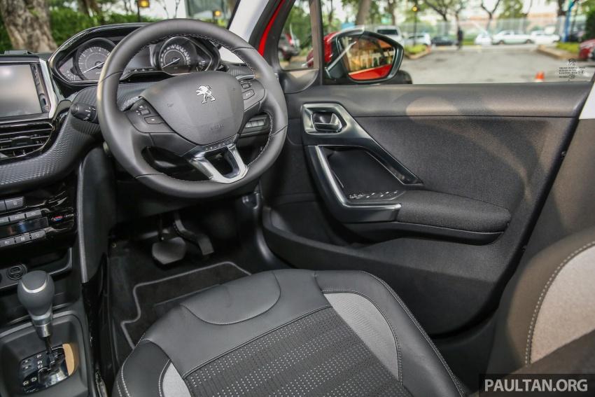 GALERI: Peugeot 208, 2008 facelift dipertontonkan Image #591790