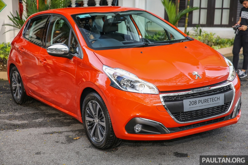 GALLERY: Peugeot 208 and 2008 facelifts on display Image #591634