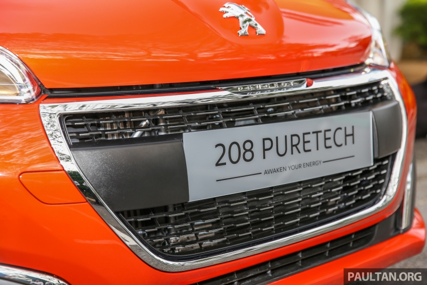 GALLERY: Peugeot 208 and 2008 facelifts on display Image #591643
