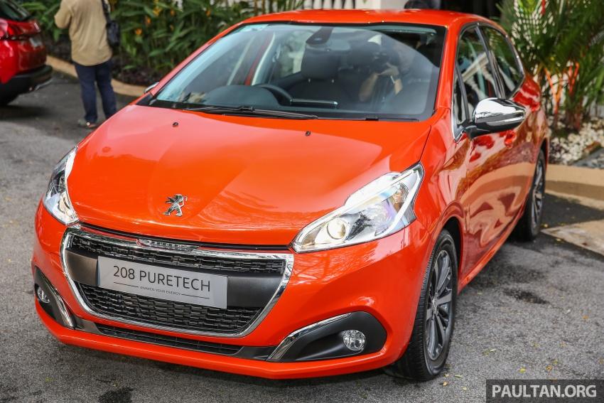 GALLERY: Peugeot 208 and 2008 facelifts on display Image #591635