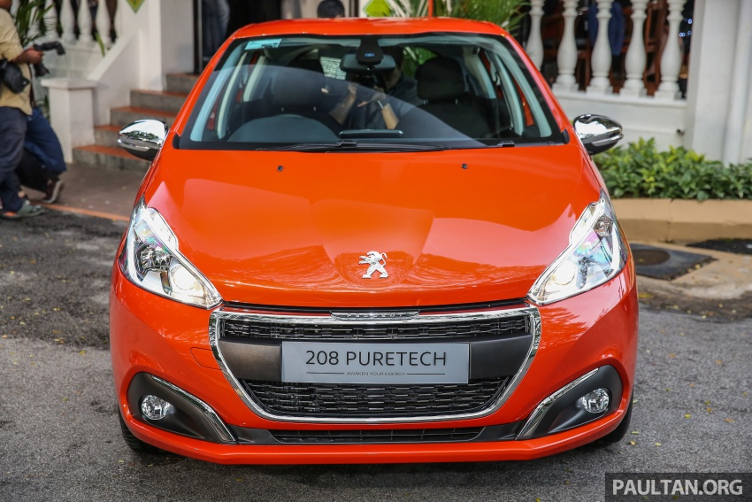 GALLERY: Peugeot 208 and 2008 facelifts on display Image #591637