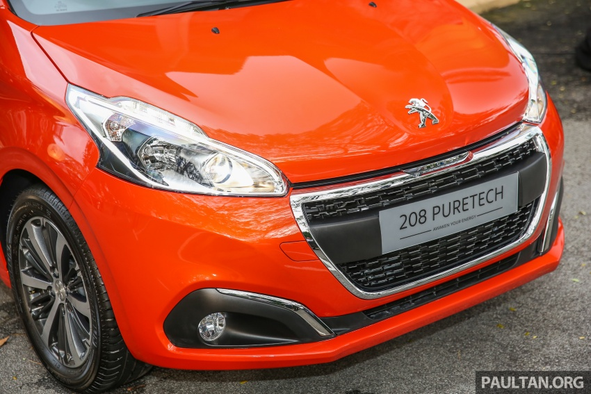 GALLERY: Peugeot 208 and 2008 facelifts on display Image #591640