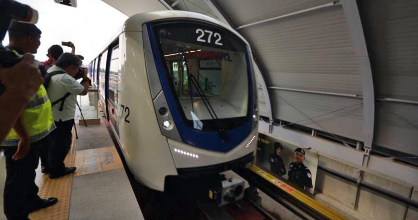 RapidKL launches new train sets for Kelana Jaya LRT Image #596210
