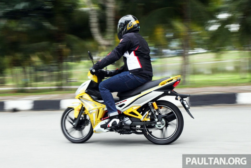 REVIEW: 2017 SYM Sport Rider 125i – bare bones and basic, but with sporty looks and at the right price Image #590191