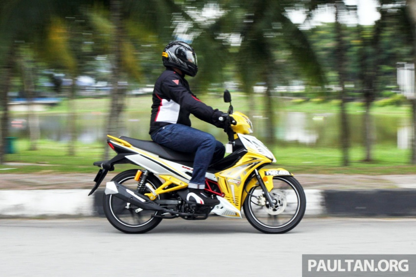 REVIEW: 2017 SYM Sport Rider 125i – bare bones and basic, but with sporty looks and at the right price Image #590192