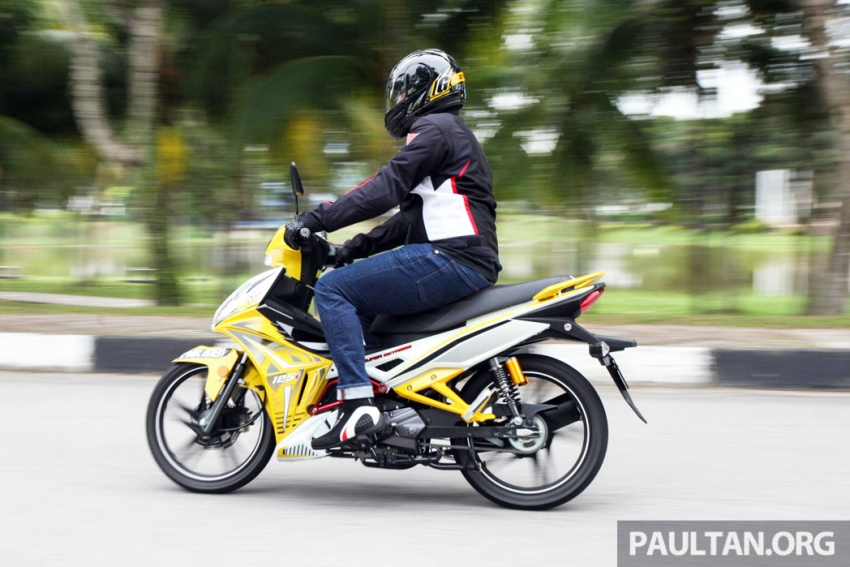 REVIEW: 2017 SYM Sport Rider 125i – bare bones and basic, but with sporty looks and at the right price Image #590194
