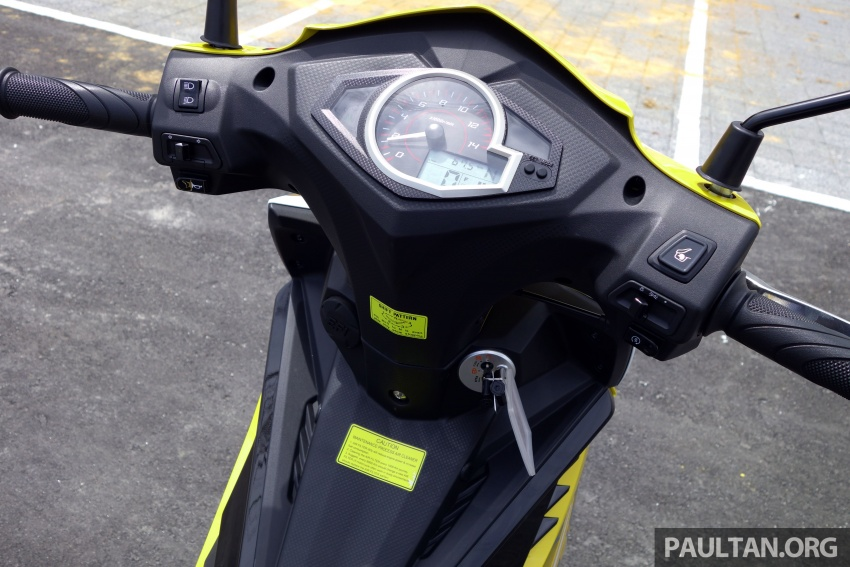 REVIEW: 2017 SYM Sport Rider 125i – bare bones and basic, but with sporty looks and at the right price Image #590172
