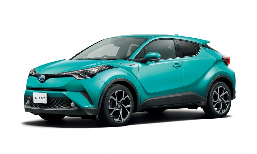 Toyota C-HR compact crossover launched in Japan – 1.2L Turbo 4WD, 1.8L Hybrid 2WD, from RM97k Image #591447
