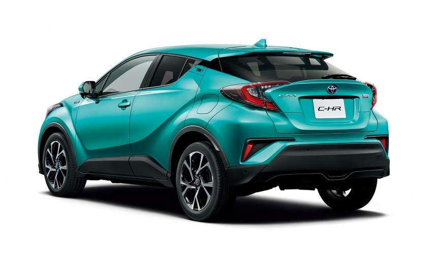 Toyota C-HR compact crossover launched in Japan – 1.2L Turbo 4WD, 1.8L Hybrid 2WD, from RM97k Image #591448