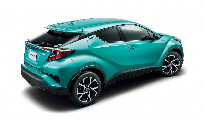 Toyota C-HR compact crossover launched in Japan – 1.2L Turbo 4WD, 1.8L Hybrid 2WD, from RM97k Image #591449