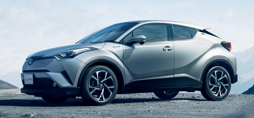 Toyota C-HR compact crossover launched in Japan – 1.2L Turbo 4WD, 1.8L Hybrid 2WD, from RM97k Image #591450
