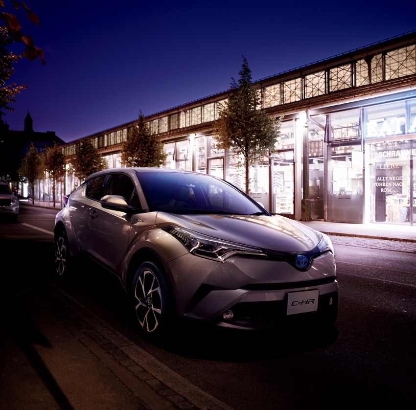 Toyota C-HR compact crossover launched in Japan – 1.2L Turbo 4WD, 1.8L Hybrid 2WD, from RM97k Image #591451