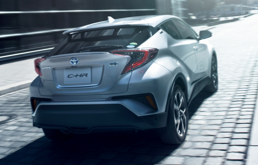 Toyota C-HR compact crossover launched in Japan – 1.2L Turbo 4WD, 1.8L Hybrid 2WD, from RM97k Image #591453