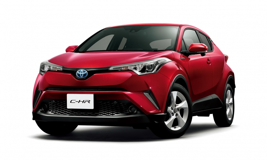 Toyota C-HR compact crossover launched in Japan – 1.2L Turbo 4WD, 1.8L Hybrid 2WD, from RM97k Image #591459