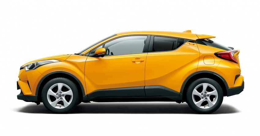 Toyota C-HR compact crossover launched in Japan – 1.2L Turbo 4WD, 1.8L Hybrid 2WD, from RM97k Image #591464