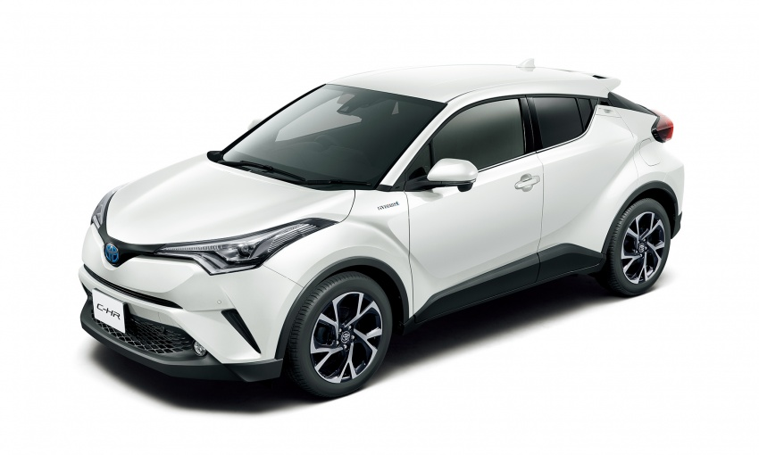 Toyota C-HR compact crossover launched in Japan – 1.2L Turbo 4WD, 1.8L Hybrid 2WD, from RM97k Image #591465