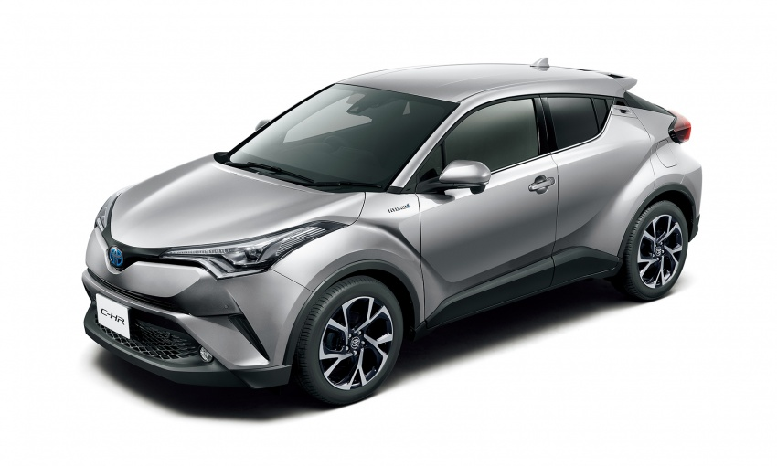 Toyota C-HR compact crossover launched in Japan – 1.2L Turbo 4WD, 1.8L Hybrid 2WD, from RM97k Image #591466