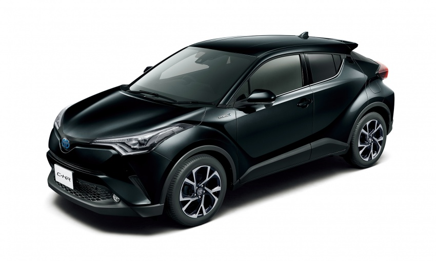 Toyota C-HR compact crossover launched in Japan – 1.2L Turbo 4WD, 1.8L Hybrid 2WD, from RM97k Image #591467