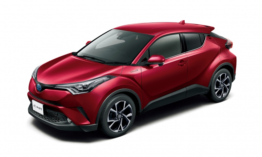 Toyota C-HR compact crossover launched in Japan – 1.2L Turbo 4WD, 1.8L Hybrid 2WD, from RM97k Image #591469