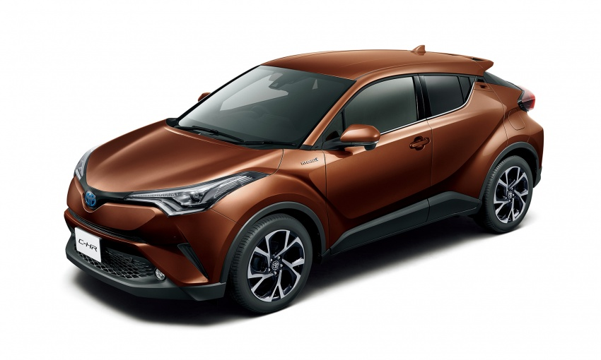 Toyota C-HR compact crossover launched in Japan – 1.2L Turbo 4WD, 1.8L Hybrid 2WD, from RM97k Image #591470