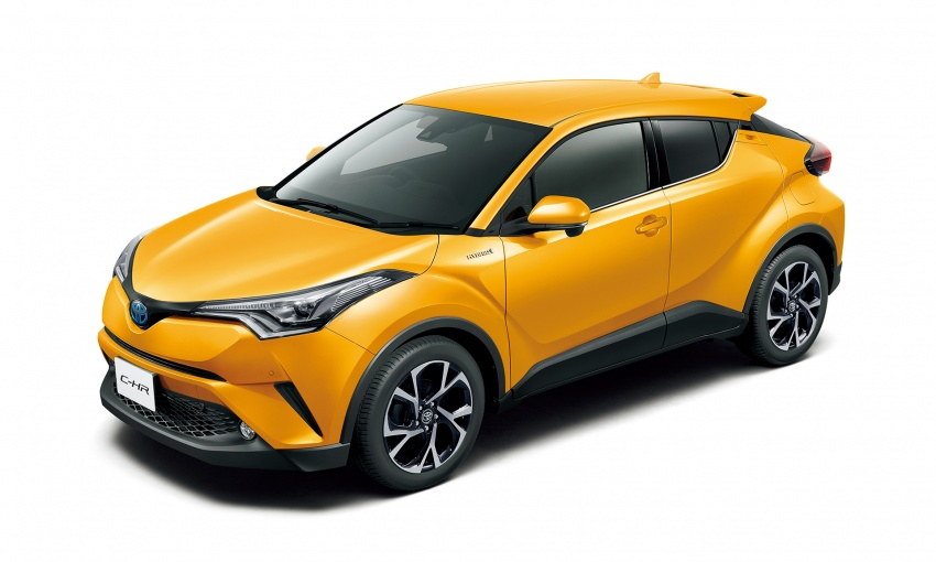 Toyota C-HR compact crossover launched in Japan – 1.2L Turbo 4WD, 1.8L Hybrid 2WD, from RM97k Image #591471